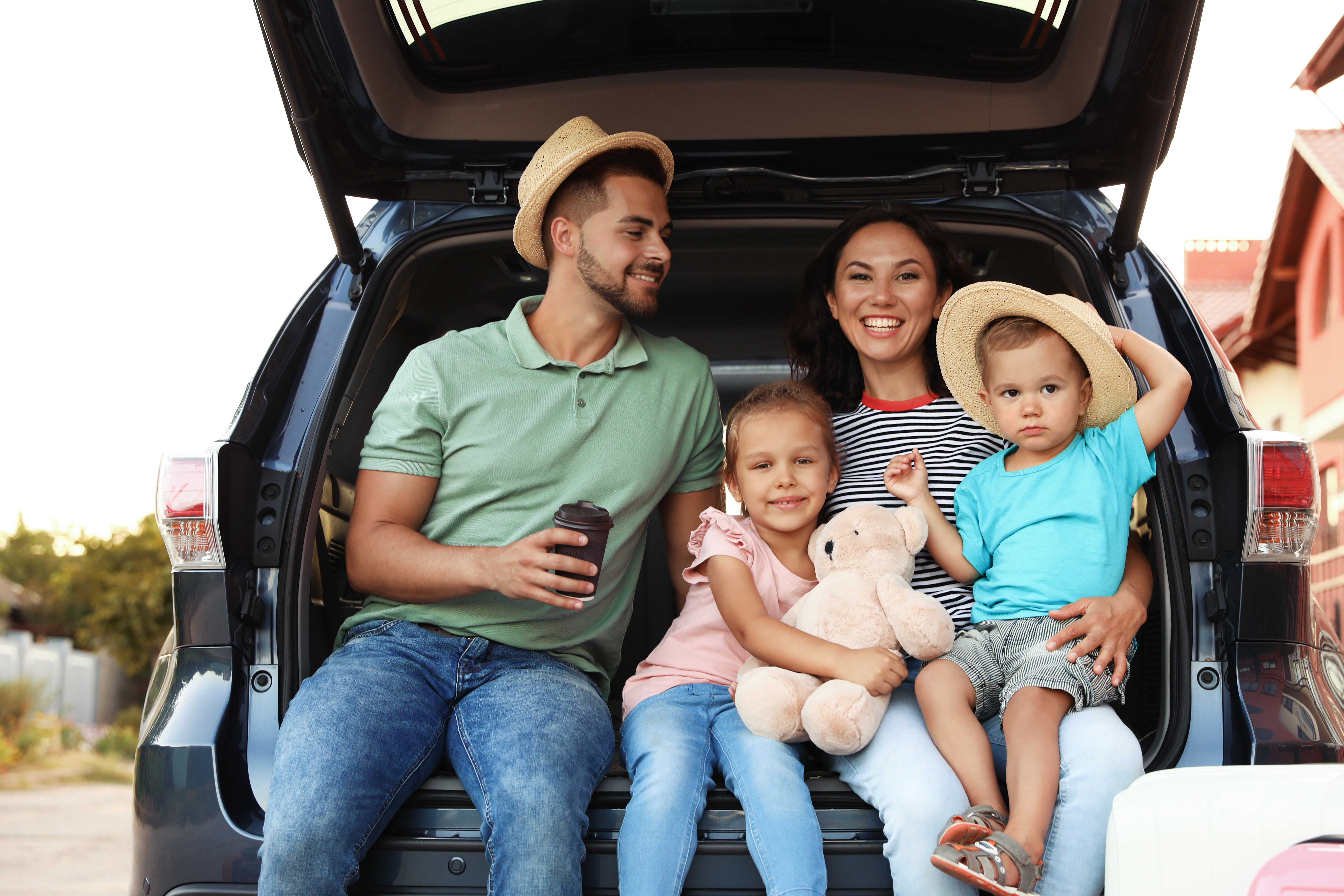 Car Trunk Family Image